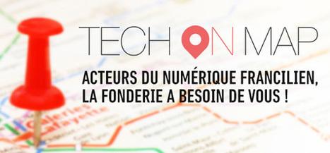 TechOnMap : une carte collaborative et ouverte pour le numérique en Île-de-France | La Fonderie | actions de concertation citoyenne | Scoop.it
