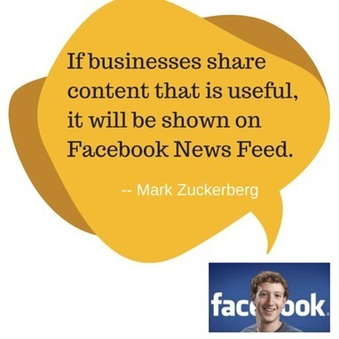 Facebook Just Told Us How to Do Facebook Marketing | Convince and Convert: Social Media Strategy and Content Marketing Strategy | Communications and Social Media | Scoop.it