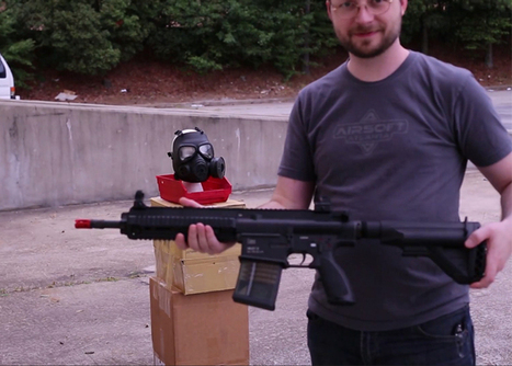 Russian Gas Mask vs. 425 FPS HK417 | Airsoft Showoffs | Scoop.it