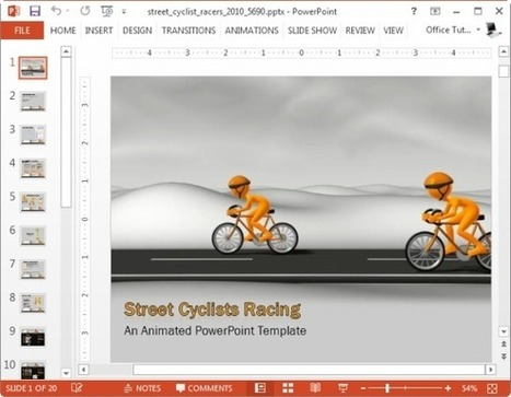 How To Add Moving Animations To Presentations | Moodle and Web 2.0 | Scoop.it