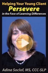 Helping Your Client Persevere in the Face of Learning Differences | Continuing Education for Mental Health Professionals | Scoop.it