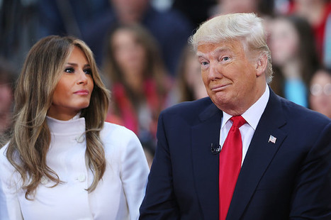 Melania Trump Compares Her Husband To A Teenage Boy After Vulgar Comments | Fabulous Feminism | Scoop.it