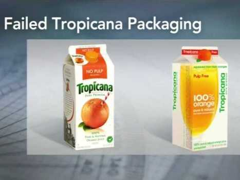 This Logo Change Caused Tropicana Sales To Plunge | Foodservice Chatter | Scoop.it