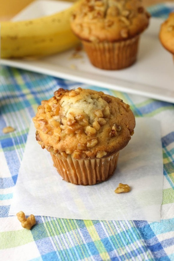 RECIPE - Banana Nut Muffins | The Man With The...