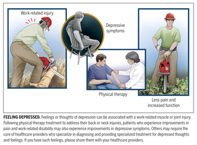 Work-Related Orthopaedic Injury and Feelings of Depression: The Potential Role of Physical Therapy - JOSPT – Journal of Orthopaedic & Sports Physical Therapy | Latest news: Physiotherapy & Health | Scoop.it