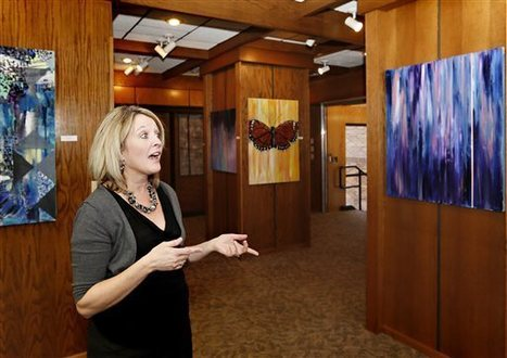 Hartington art gallery draws readers to the library - The Idaho Statesman | SocialLibrary | Scoop.it