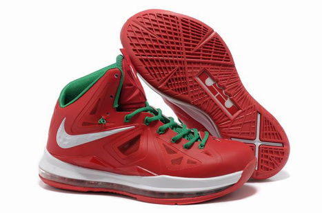 Nike Air Max Lebron 10 Christmas Red Green White - Lebron 10 Christmas | 2012 Fashion Moncler Womens Jackets | Scoop.it