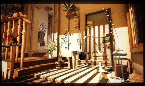 autumn is the hush before winter ... | Second Life Sawa's Style | Scoop.it