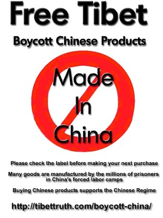 Boycott China | #Tibet#China#Occupation | Scoop.it