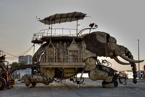 The homes at Burning Man : On The Block | Transformative Art | Scoop.it