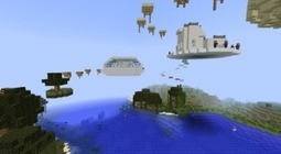 Awesome Jump Map I:  Escape To The Sky Kingdom   Minecraft Mods   Scoop.it