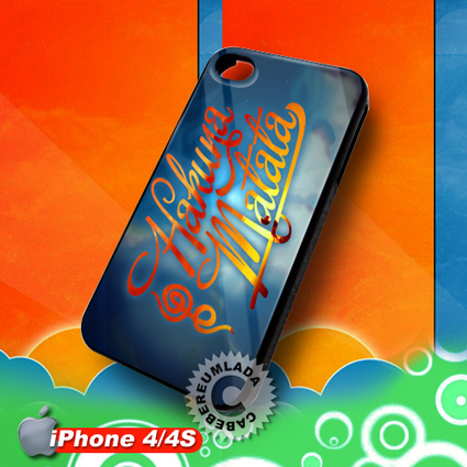 Hakuna Matata Lion King iPhone 4 4S Case for sale | Customizable Smart Phone Cases | Scoop.it