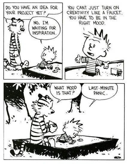 May 20, 1990: Advice on Life and Creative Integrity from Calvin and Hobbes Creator Bill Watterson | creativity101 | Scoop.it