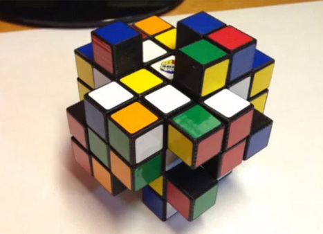 Tech Enthusiast Creates World's Hardest Rubik's Cube Through 3D Printing | This week in 3d printing | Scoop.it