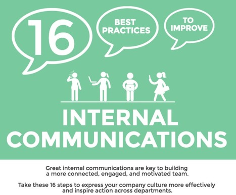 16 Best Practices for Internal Communications | Enplug | Internal Communications Tools | Scoop.it