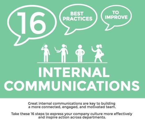 16 Best Practices for Internal Communications | Enplug | AMEA Communications | Scoop.it