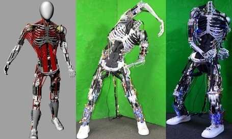 Kenshiro Robot Gets New Muscles and Bones - IEEE Spectrum | EEDSP | Scoop.it