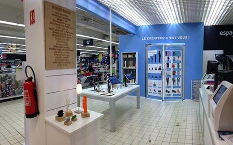 Yoomake : Auchan inaugure le premier atelier 3D avec Sculpteo | Actu de la Réalité Augmentée et de l'impression 3D | Scoop.it