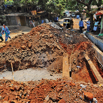 BMC diverts drains, leaves encroachment untouched - Daily News & Analysis | Drainage Channel | Scoop.it
