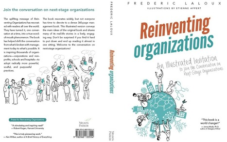 "First Glimpses of the Illustrated ""Reinventing Organizations"" Book - Enlivening Edge 