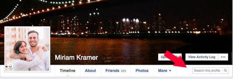 Facebook va permettre de faire des recherches sur les profils | Mon Community Management | Scoop.it