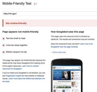 Google's Mobile Search Shift Demands Website Upgrade #websitedesign | WebsiteDesign | Scoop.it