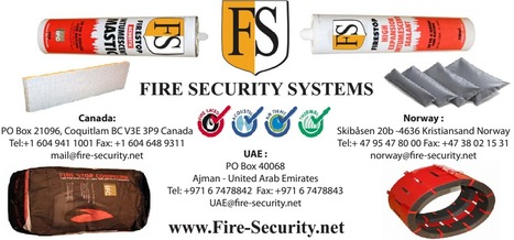 Fire Stopping | Fireproofing Spray | Cable Coating | Cable Fire Protection | firesecurity | Scoop.it