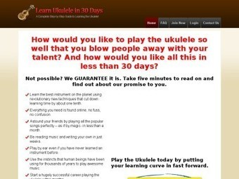 Ukulele Lessons for Beginners – Learn to play ukelele songs ... | Uke tunes | Scoop.it