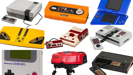 This Encyclopedic Site Contains 41 Years of Video Game Console Design | VIM | Scoop.it