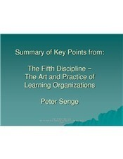 Summary of Key Points from The Fifth Discipline − | Organisation Development | Scoop.it