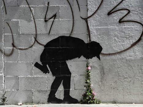 Street art: Banksy | Creatividiario: recursos, inspiración y motivación para creadores en la web | Scoop.it