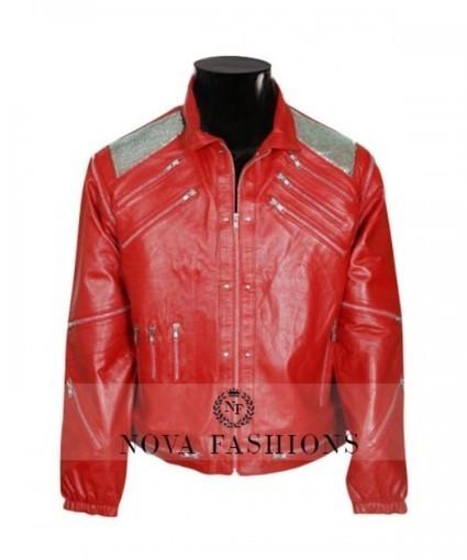 Michael Jackson Beat It Jacket | MJ Beat It Red Leather Jacket | Current Fashion Updates - 2015 | Scoop.it