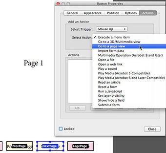 Navigation Button Tricks for Interactive PDF on an iPad | InDesignSecrets | Tablet publicaties maken | Scoop.it