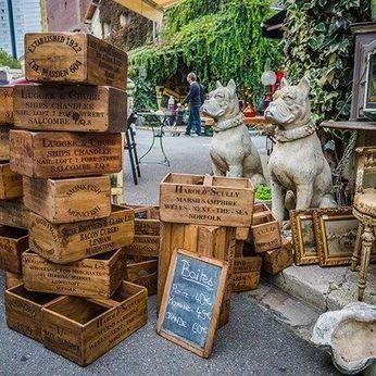 How to buy at flea markets in Paris : | les expositions CULTure au Marché Dauphine. | Scoop.it