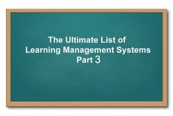 List of Learning Management Systems: Part 3 | Learning is Life | Scoop.it