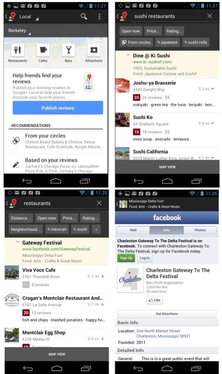 Google+ Local Officially Replaces Places Apps in Mobile | Local SEO and Local Search Marketing News | Scoop.it