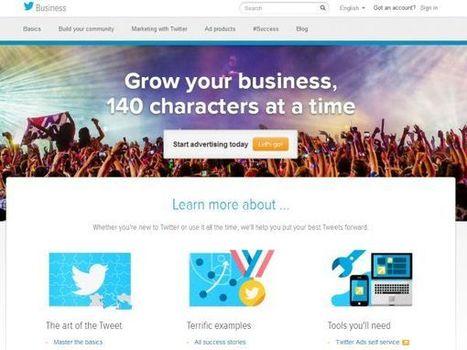 Twitter renova seu espaço dedicado às empresas | OTwitter ? | Scoop.it