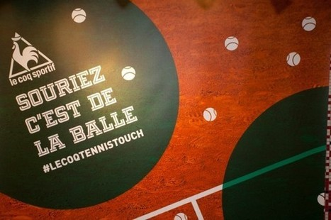 Tennis Touch by le Coq Sportif | streetmarketing | Scoop.it