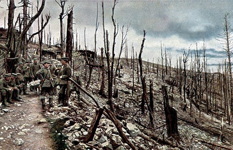 12 Colour Photos of the German Eastern Front in World War One | Epic pics | Scoop.it