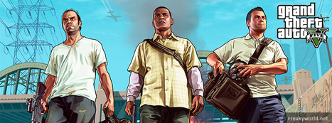 Grand Theft Auto V Official Gameplay Trailer HD   FreakyWorld   FreakyWorld   Scoop.it