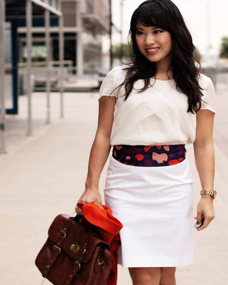 Top 10 White Pencil Skirt, Cheap White Skirt - 2015 | Health & Fashion | Scoop.it
