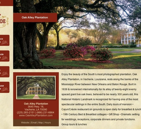 Plantation Parade | Oak Alley Plantation: Things to see! | Scoop.it