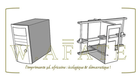 W.Afate 3D printer | Innovations, Créations, Solutions... | Scoop.it