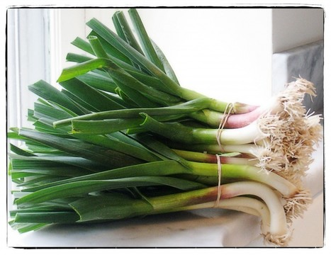 Spring garlic—a gift of the season | Annie Haven | Haven Brand | Scoop.it