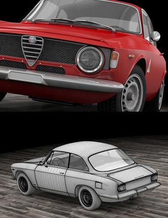 Alfa Romeo Giulia 3D | 3D Library | Scoop.it