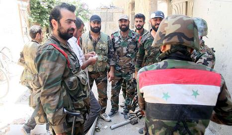 L'armée syrienne a reconquis la dernière ville importante sur la frontière libanaise | Autres Vérités | Scoop.it
