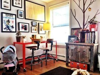 Converting unused home workspace into something useful | House Decorating | Scoop.it