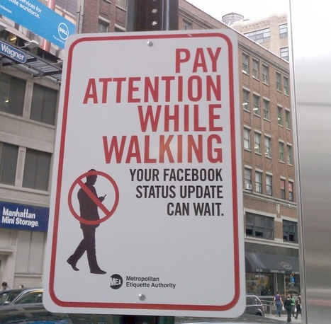 Hey, You're Walking Here: Guerilla Etiquette Artist Takes to the Streets | great buzzness | Scoop.it