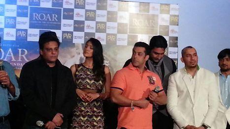 "Salman Khan at an event for ""Roar"" | Filmi Gossip | Scoop.it"