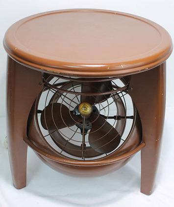 Antique fan that's also a step stool -- vintage Vornado fan | Antiques & Vintage Collectibles | Scoop.it